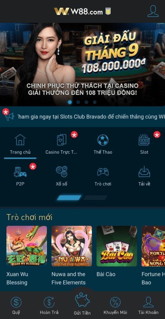 tải app đánh bài câu cá tại W88
